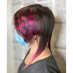 Petali di colore su taglio multiforme.