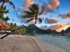 Matira Beach, Bora Bora, French Polynesia