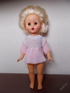 Pěkná ruská panenka blondýnka 34  cm