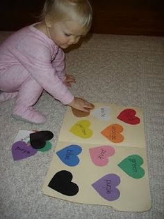 More Valentines Sensory Activities! Repinned by Sensory Solutions LLC. For more ideas like this visit www.pinterest.com/sensorysolution