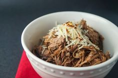 Sunday Slow Cooker:  Italian Beef, 5 points plus