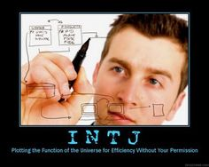 INTJ - Plotting the function of the universe for efficiency without your permission