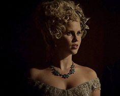 "Claire Holt as Rebekah in episode of The Originals ""Girl in New Orleans"" Miss Claire, Claire Holt, The Originals Camille, Kol And Davina, Charles Michael Davis, Crown Aesthetic, Vampire Look, Claudia Black, American Series"