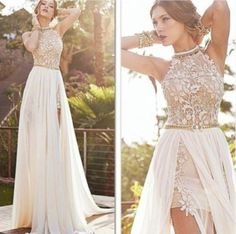 long Prom Dress,white Prom Dress,2016 Prom Dress,charming prom dress,wedding dress,PD098