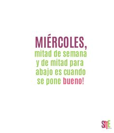 MIÉRCOLES mitad de semana #findemes #sitemagazine