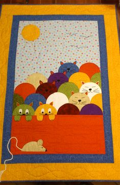 Colchas de cuna on pinterest baby quilts elephant quilt - Colchas cuna patchwork ...