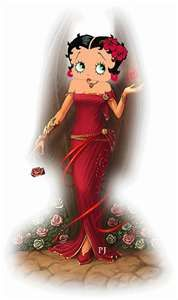 An evening out with Betty Boop
