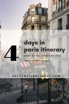 Paris, France | Deciding what to do in Paris? This ultimate four-day plan is packed with highlights, tips, eateries and even a couple of off the beaten path spots! | Paris in 4 days, 4 day paris itinerary, what to do in Paris, Europe travel, Paris travel tips, family travel to Paris, Eiffel Tower, streets of paris, lights of paris, Paris France travel ideas, what to do in Paris,