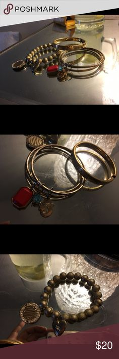 3 three stunning decadent individually bracelets Found at a high-end estate sale unsure of origin or make up Jewelry Bracelets