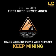 March on! 2920 days of #bitcoin #mining. Thank you for your continuous support!