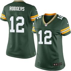 Nike Aaron Rodgers Women s Green Limited Jersey   12 NFL Home Green Bay  Packers Green 06cafbf71