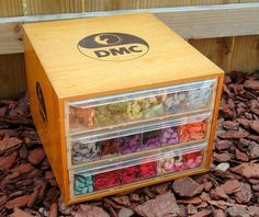 DMC Floss Organizer.....I bought mine from a needlework shop that went out of business several years ago.