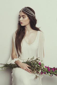 Bo & Luca: Santa Monica Headpiece Available in London @theloversbride