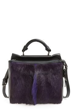 3.1 Phillip Lim 'Small Ryder' Fur Satchel available at #Nordstrom $812