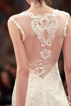 Vestido de novia espalda