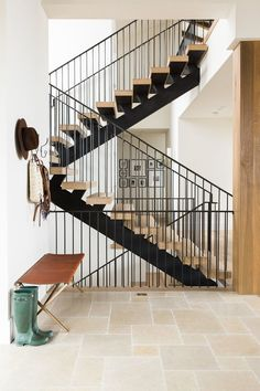 Modern staircase in