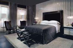 Bedroom designed by Matt Lorenz