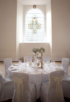 Wedding reception in the Great Hall at Farnham Castle