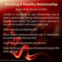 ways to resolve conflict in a relationship