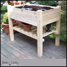 Raised Garden Planter Box w/ Lower Shelf $299.85