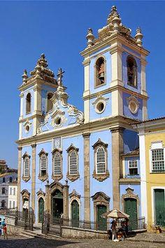 Salvador, Bahia, Brazil (Bahia always reminds me Jorge Amado :) )