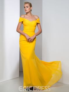 If we need another bright yellow dress option. Maybe this?