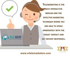 Telemarketing is a modern marketing strategy of selling products or services directly to customers by calling, video conferencing via telephones or internet.Telemarketing allows consultant to contact potential customers by phone or other means of communication.