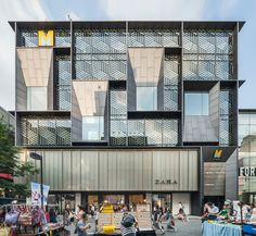 Image 1 of 56 from gallery of M Plaza / Manifesto Architecture. Photograph by Kyungsub Shin