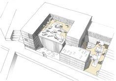 Projekt: Sports-Dome HafenCity Ranger, Sport, Architecture, Landscape Diagram, Recovery, House, Arquitetura, Deporte, Sports