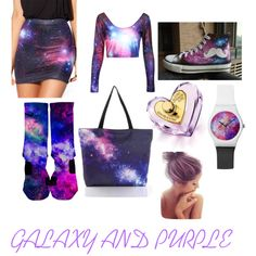 galaxy by sraley on Polyvore featuring polyvore fashion style HVBAO