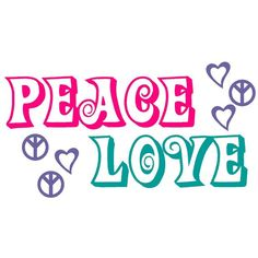 Items similar to Wall Decal Peace Signs and Love Hearts Vinyl Sticker Word Art Lettering Bluestreak Decals on Etsy Love Heart, Peace And Love, Girls Duvet Covers, Hippy Room, Great Inspirational Quotes, Give Peace A Chance, Peace Art, Fb Covers, Diy For Girls