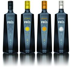 Fris Vodka's new package design by The Brand Union