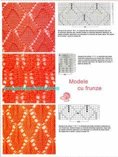 Libro de 72 Patrones de Puntos Dos Agujas / imágenes y archivo PDF para descargar - Parte 2   Crochet y Dos agujas