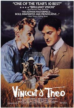 Vincent & Theo Directed by Robert Altman. With Tim Roth, Paul Rhys, Adrian Brine, Jean-François Perrier. The familiar tragic story of Vincent van Gogh is broadened by focusing as well on his brother Theodore, who helped support Vincent. Robert Altman, Kirk Douglas, Martin Scorsese, Vincent Van Gogh, Hd Movies, Movie Tv, Theo Van Gogh, Benedict Cumberbatch, John Daly