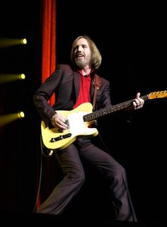 Tom Petty performs with The Heartbreakers at Heineken Music Hall in Amsterdam on June 24th, 2012.