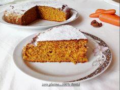 Torta di carote e mandorle senza glutine