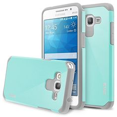 Samsung Galaxy Grand Prime Case, RANZ® Grey with Aqua Blue Hard Impact Dual Layer Shockproof Bumper Case For Samsung Galaxy Grand Prime G5308 / G530H RANZ http://www.amazon.com/dp/B0160NP3SE/ref=cm_sw_r_pi_dp_-qyBwb1FMY9BD