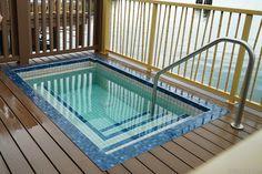 Disney's Polynesian Villas and Bungalows - Disney's Polynesian Village Resort Bora Bora Bungalow - Plunge Pool