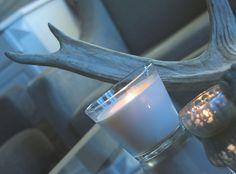 elggevir mooseantlers candles blue