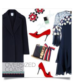 """""""grab your coat"""" by collagette ❤ liked on Polyvore featuring Peter Pilotto, DKNY, Gucci, Miriam Haskell, ADAM, Butter London, vintage, gucci, peterpilotto and oversizedcoats"""