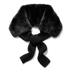 The Rabbit Fur Cashmere Tie from Coach