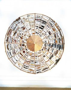 Medicine Wheel by Chris Drury