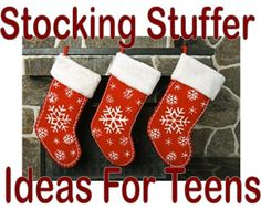 30 Stocking Stuffer Ideas for Teens