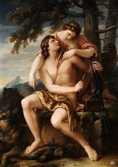 Apollo and Artemis. 1770. Gavin Hamilton.