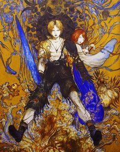 La acuarela y la tinta de Yoshitaka Amano - Final Fantasy X > Buen reencuentro con este juego...