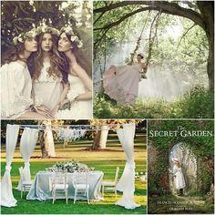 secret garden wedding theme | secret garden wedding1 Fun Wedding Ideas For Whimsical Weddings