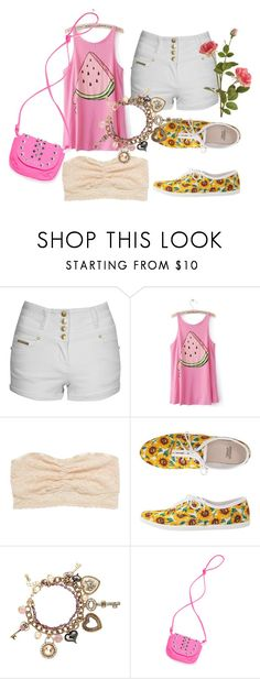"""""""Summer Love!"""" by muzique-notez ❤ liked on Polyvore featuring Jane Norman, American Eagle Outfitters, American Apparel, Star by Julien Macdonald, Victoria's Secret PINK and OKA"""