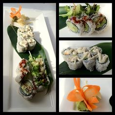 """Vegan Sushi from """"Soy & Sake"""" NYC"""