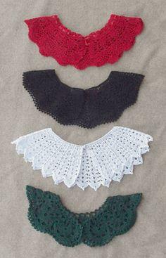 Free Crochet Patterns Dresser Runner | hand crochet collars was crochet popular our beautifully hand crochet