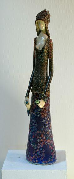 """ΚΕΝΤΡΟ ΣΥΓΧΡΟΝΗΣ ΚΕΡΑΜΙΚΗΣ (Centre for Contemporary Ceramics) - """"Woman""""."""